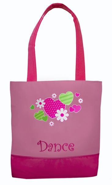 c08652d71c11 HNF-01 Hearts   Flowers Dance Tote – See the Collection
